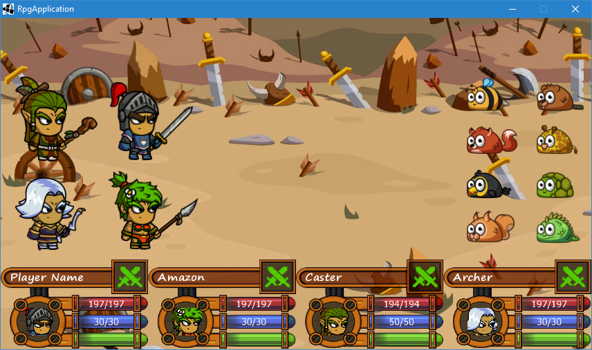 New UI: Combat Console (after) #2