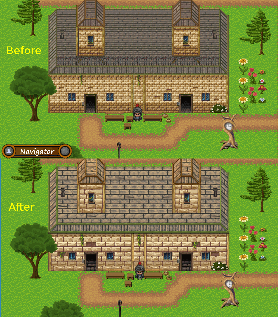 Town: Before/After